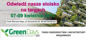 Mentor na targach GreenDays 2017
